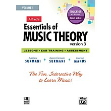 Alfred Alfred's Essentials of Music Theory: Software, Version 3 CD-ROM Educator Version, Volume 1