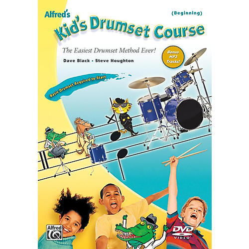 Alfred Alfred's Kid's Drumset Course DVD