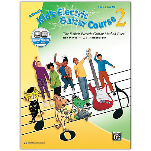 Alfred Alfred's Kid's Electric Guitar Course 2 - Book & Online Audio