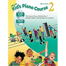 Alfred Alfred's Kid's Piano Course 2 Book, CD & DVD