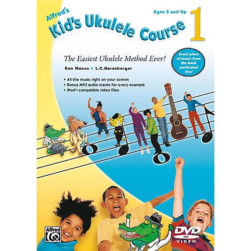 Alfred Alfred's Kid's Ukulele Course 1 DVD Beginner