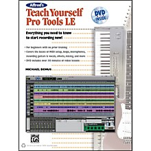 Alfred Alfred's Teach Yourself Pro Tools LE Book & DVD