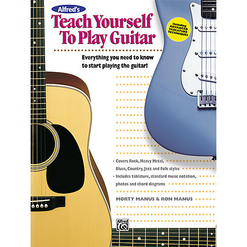 Alfred Alfred's Teach Yourself to Play Guitar