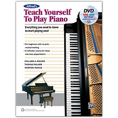 Alfred Alfred's Teach Yourself to Play Piano - Book, DVD & Online Audio, Video & Software