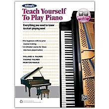 Alfred Alfred's Teach Yourself to Play Piano - Book & Online Audio