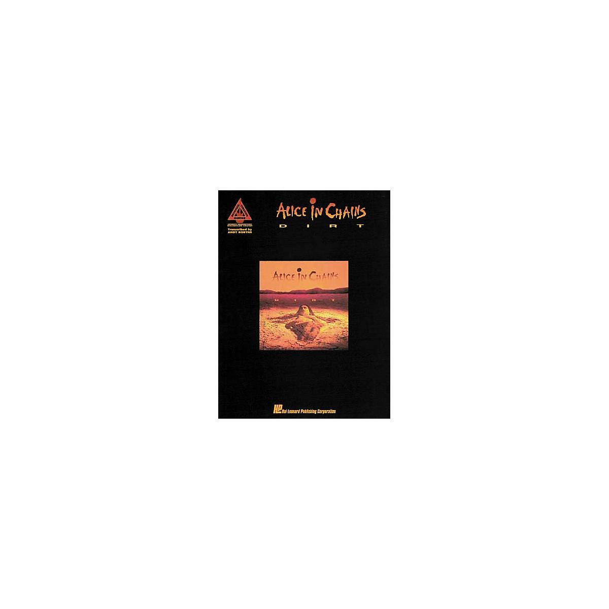Hal Leonard Alice in Chains Dirt Guitar Tab Songbook