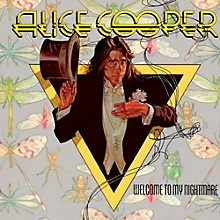 AliceCooper - Welcome to My Nightmare LP