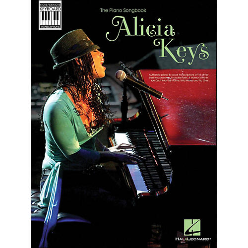 Hal Leonard Alicia Keys: Note-for-Note Keyboard Transcriptions