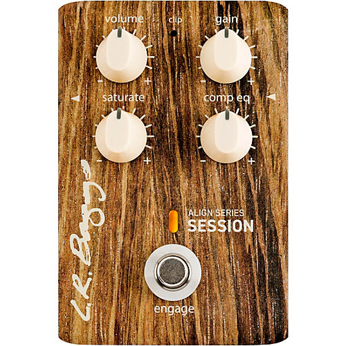 LR Baggs Align Session Acoustic Saturation/Compressor/EQ Effects Pedal