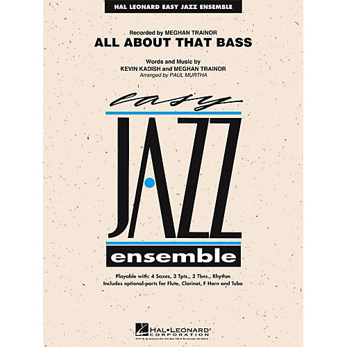 Hal Leonard All About That Bass Jazz Band Level 2