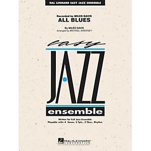 Hal Leonard All Blues Jazz Band Level 2 Arranged by Michael Sweeney by Hal Leonard