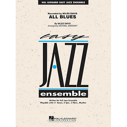 Hal Leonard All Blues Jazz Band Level 2 Arranged by Michael Sweeney