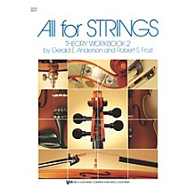 KJOS All For Strings 2 Theory Workbook Cello
