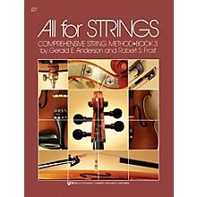KJOS All For Strings 3 Viola