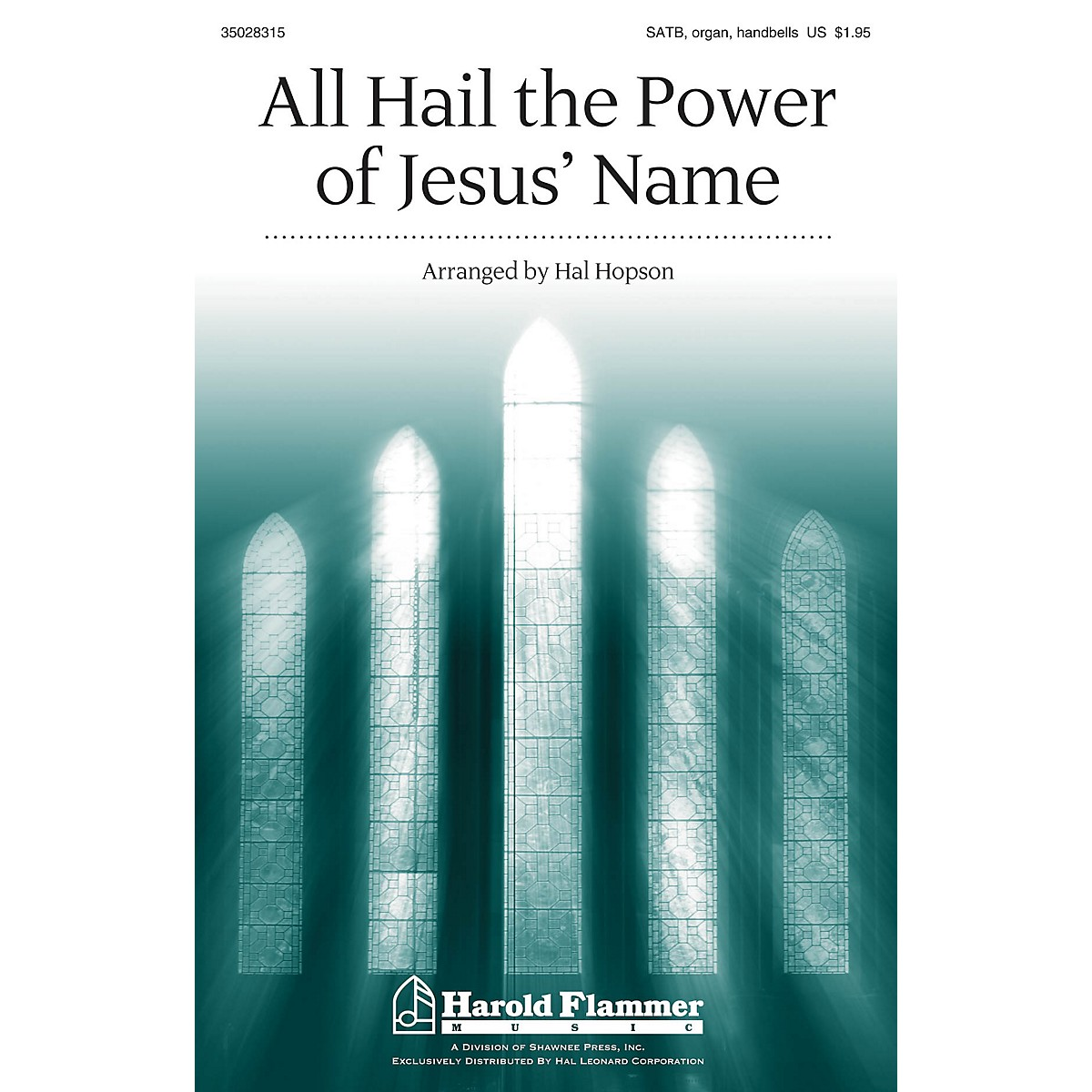 Shawnee Press All Hail the Power of Jesus' Name SATB, HANDBELLS arranged by Hal Hopson