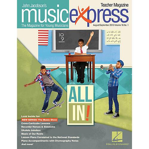 Hal Leonard All In!, Vol. 16 No. 1 Teacher Magazine w/CD Arranged by Emily Crocker