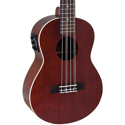 Lanikai All-Mahogany 6-String Tenor Acoustic-Electric Ukulele