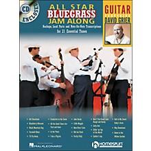 Homespun All Star Bluegrass Jam-Along for Guitar Book/CD