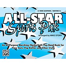 Alfred All-Star Sports Pak B-Flat Tenor Saxophone/Baritone T.C.