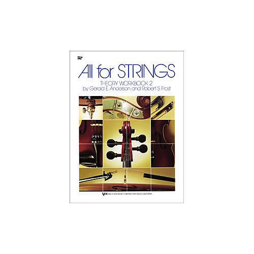 KJOS All for Strings 2 Theory Workbook Viola