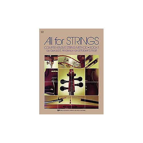 KJOS All for Strings Book 1 Violin