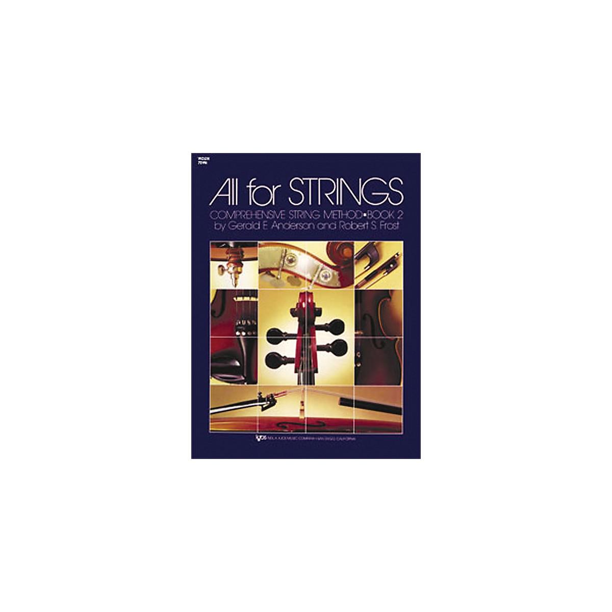 KJOS All for Strings Violin Book 2