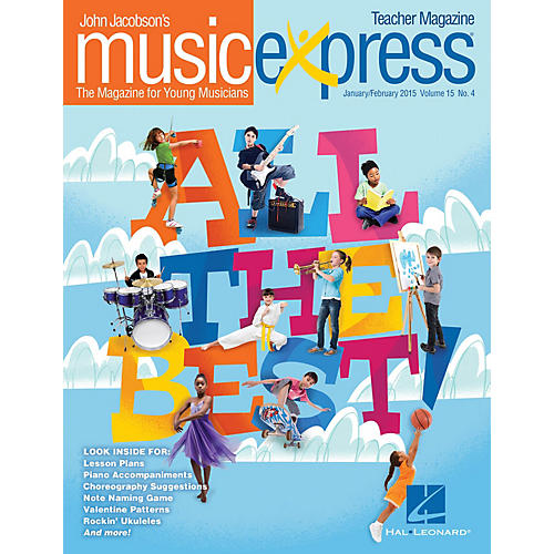 Hal Leonard All the Best Vol. 15 No. 4 Teacher Magazine w/CD by Sara Bareilles Arranged by Emily Crocker