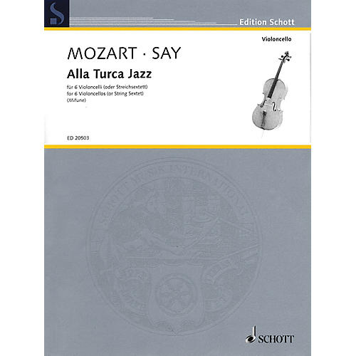 Schott Alla Turca Jazz String Series Softcover