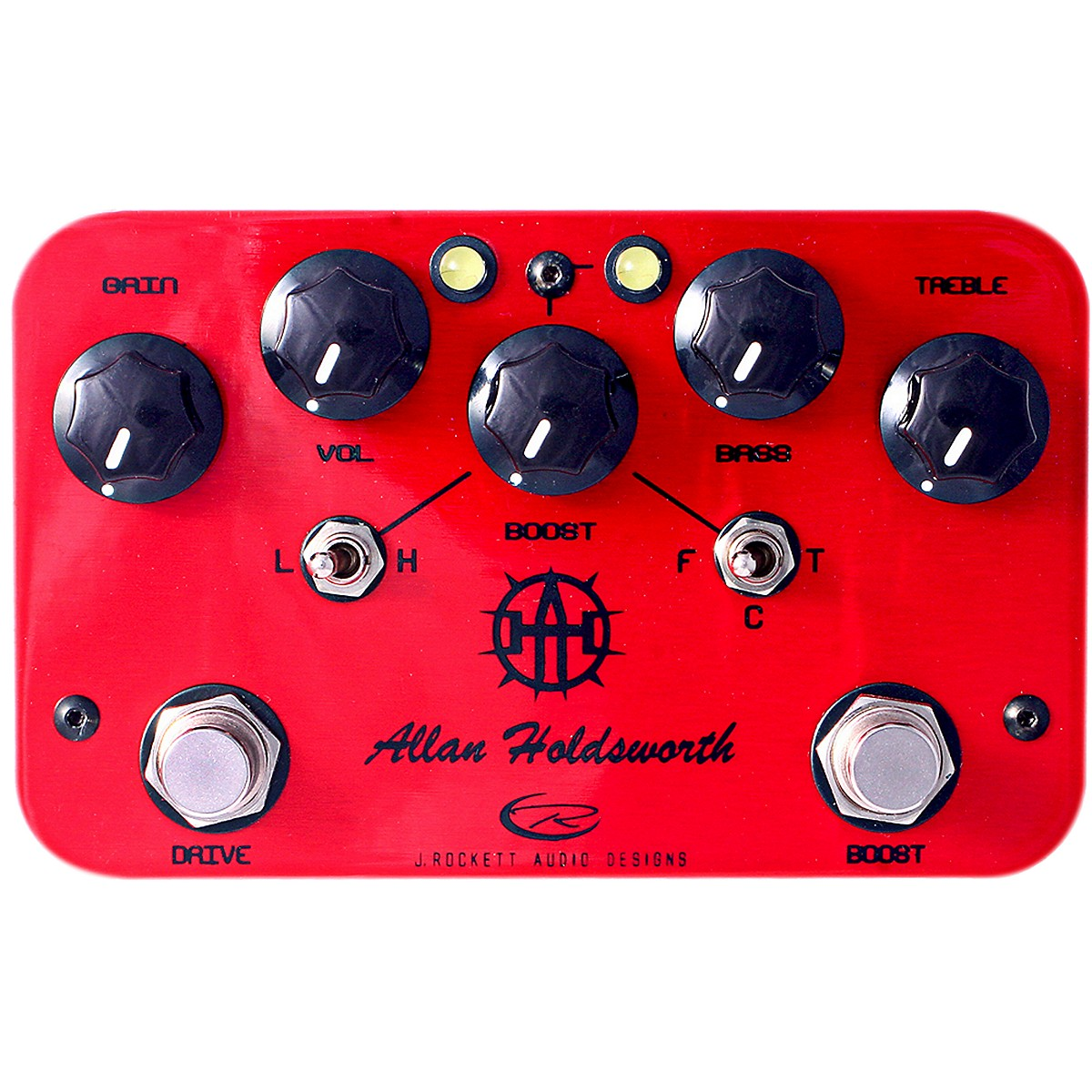 Rockett Pedals Allan Holdsworth Overdrive/Boost Guitar Effects Pedal