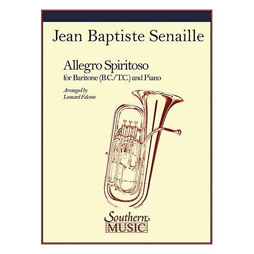 Southern Allegro Spiritoso (Trombone) Southern Music Series Arranged by Leonard Falcone