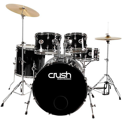 Crush Drums & Percussion Alpha 5-Piece Drum Set with Cymbals and Throne