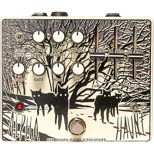 Old Blood Noise Endeavors Alpha Haunt Expanded Fuzz Effects Pedal