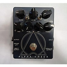 Darkglass Alpha Omega Bass Distortion Bass Effect Pedal