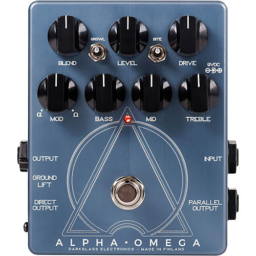 Darkglass Alpha Omega Preamp Pedal