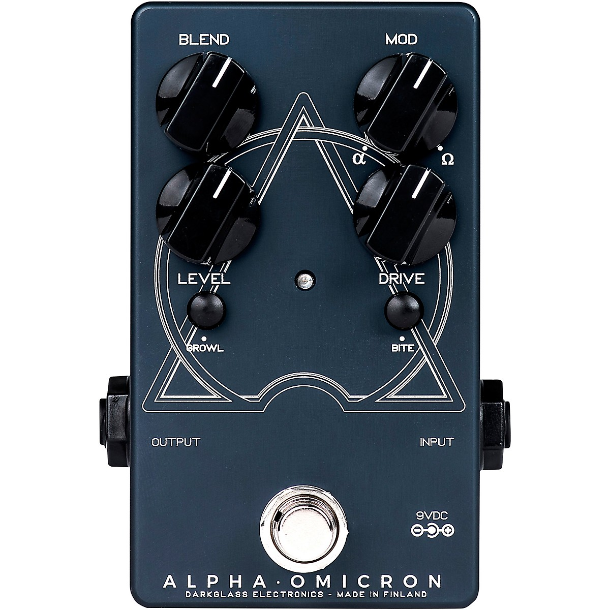 Darkglass Alpha Omicron Bass Distortion Effects Pedal