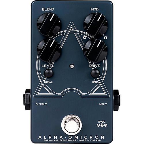 Darkglass Alpha Omicron Bass Distortion Effects Pedal