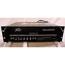 Peavey Alphabass Tube Bass Amp Head