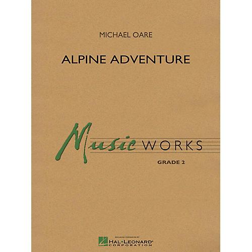 Hal Leonard Alpine Adventure Concert Band Level 2 Composed by Michael Oare