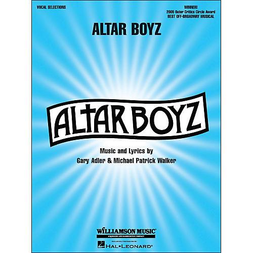 Hal Leonard Altar Boyz arranged for piano, vocal, and guitar (P/V/G)