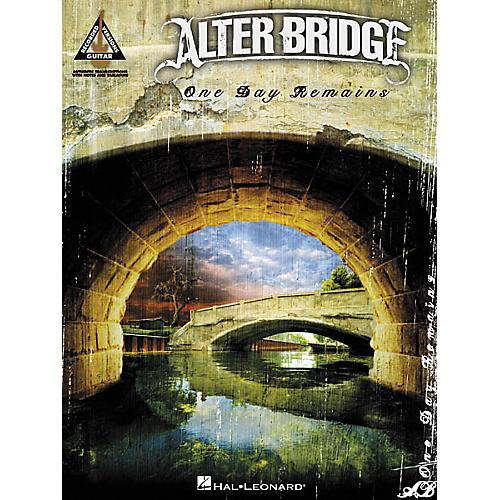 Hal Leonard Alter Bridge One Day Remains Guitar Tab Songbook