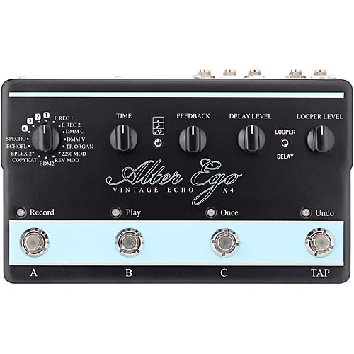 TC Electronic Alter Ego X4 Vintage Echo Effects Pedal