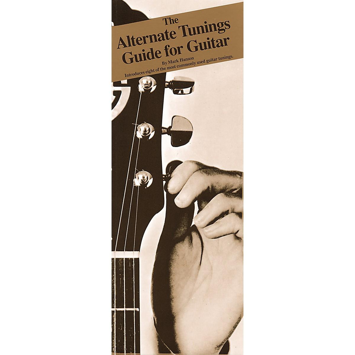 Music Sales Alternate Tunings Guide for Guitar