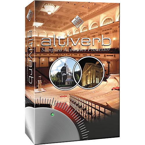 Audio Ease Altiverb 6 Sampled Acoustics Processor Plug-In