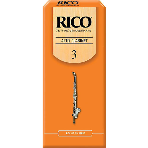 Rico Alto Clarinet Reeds, Box of 25