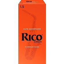 Rico Alto Saxophone Reeds, Box of 25