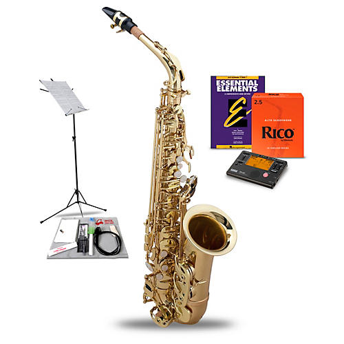 allora alto saxophone value pack guitar center. Black Bedroom Furniture Sets. Home Design Ideas