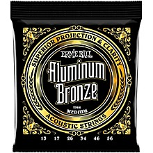 Ernie Ball Aluminum Bronze Medium Acoustic Guitar Strings