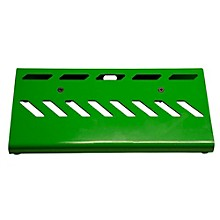 Aluminum Pedal Board - Small with Bag Green