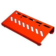 Aluminum Pedal Board - Small with Bag Orange