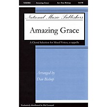 National Music Publishers Amazing Grace SATB a cappella arranged by Dan Bishop